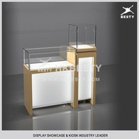 Customized jewelry display table with fabulous led lights