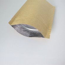 bottom gusset brown paper bag for ribs and BBQ meats