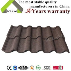 thin metal roof tiles zinc roofing sheet building material