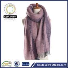 Hombre de moda falsa bufandas de la bufanda de la cachemira inteligente con flecos chal simple Poncho de lluvia