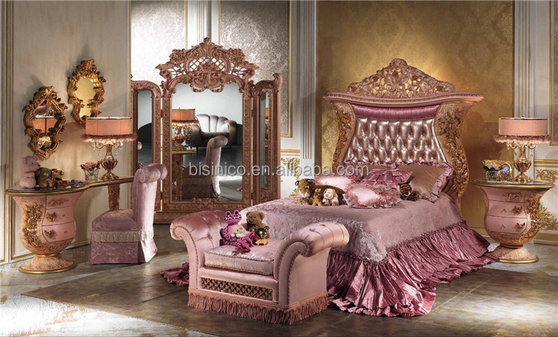 Italienne design de luxe enfants mobilier de chambre for Princess style bedroom furniture