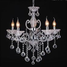 Reasonable price glass crystal chandelier wedding cake stand