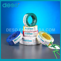 High Quality Cheap PVC Insulated Solid Copper BV Electrical Wire discount electrical wire