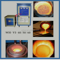 Intermediate frequency electric Smelting Furnace for Gold/ Silver/Platinum/ Alloy/ Metal melting furnaces