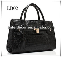 2014 latest fashion design leather bag