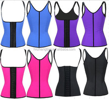 instyles walson Adjustable Strap Latex Waist Training Cincher Workout Corset Body Shaper 4 Colors Sport