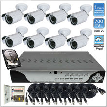 Security Camera Set 1000tvl DVR Cctv Kamera Kit System