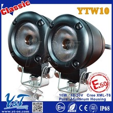 Y&T E-mark 10W motorcycle lighting, automotive tuning vw golf 5, Auxiliary light for harley davision