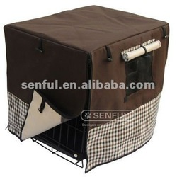 Luxury Dog Cage Cover Crate Cover