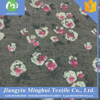 popular brands denim fabric wholesale in market dubai for women dress/shirt
