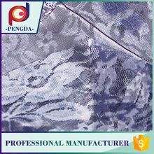 Diseñador tela mejor venta hermosa puntilla elástica tela de brocado