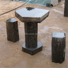 2015 new product garden chairs basalt natural stone,large lava stones