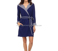 Hooded TC French Terrry Bath Robe