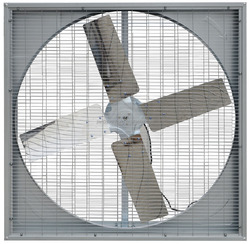 Greenhouse/poultry house double sides net cooling fan
