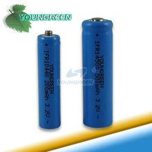 Reciclado de baterias recargables 3.2V