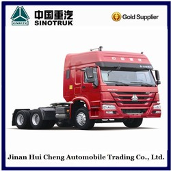 SINOTRUK left hand drive tractor truck head howo welcomed all over in the world
