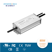 Inventroncis input 90-305Vac and constant current output 85W landscape light use led power supply