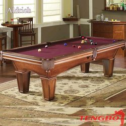 Black Vines Octagon Poker Table High cost performance american Alaska billiard pool table