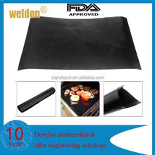 2pcs Reusable Non-stick BBQ Grill Mat Surface Hot Plate Easy Clean Camping