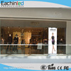 P4.8mm indoor full color cloth shop advertising video curtain led display