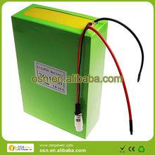 36V Lifepo4 E-bike battery pack with high quality