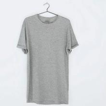Design Big Blank Tall T Shirts,Custom Men Long Tee,Wholesale Bulk Elongated T Shirt