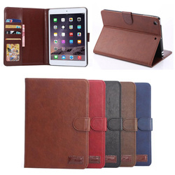 fashion belt clip holder leather flip cover case for apple ipad mini 1 2 3