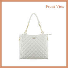 New Fashion Pure White Italian Style Women Bag for Party