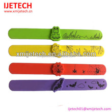 Eco-friendly green promotional silicone mosquito repellent bracelet