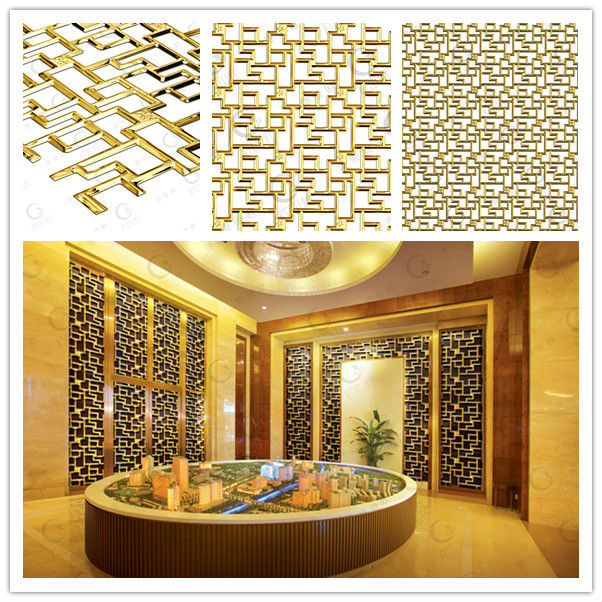 Banquet Hall Design: New Design Indoor 3d Textured Stainless Steel Decorative