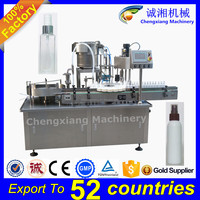 Free shipping full auto spray bottle filling machine,plastic bottle filling machine,bottle filling machine