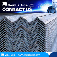 China supplier Enqual and unqual hot rolled galvanzied carbon steel angle iron for tower