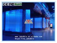 Boutique interior design led water features bubble wall fountain aquarium decorations