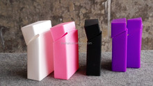 Very cool offerset printing silicone cigarette case