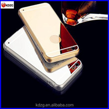 electroplating mirror effect protective mirror phone case for iphone 6 plus