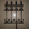 Cast aluminum fence