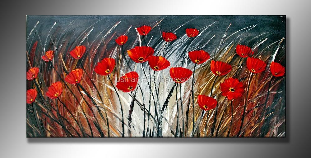Coltello dipinti ad olio dipinto quadri di fiori di for Quadri a olio fiori