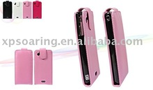 PU leather case pouch bag for Sony Ericsson X12 LT15i