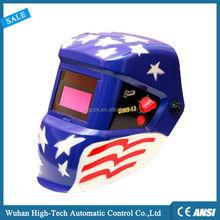 China DIN9-13 Clear View Custom Painting Solar Auto Darkening ARC Welding Helmet/Welding Mask EN379