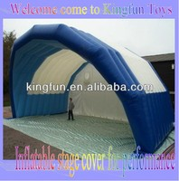 8M inflatable stage cover/performance arch tent outdoor