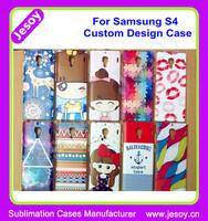 JESOY 3D Custom Full Printed Mobile Phone Cases Design For Samsung Galaxy s4 i9500 s4 mini i9190