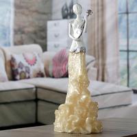 One piece resin figure/new items 2016/fancy women statue