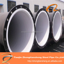 Carbon Steel Pipe Covered Plastic for Oil / gas fluid