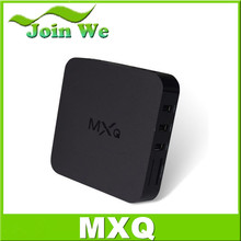android smart tv box mxq quad core android 4.4 tv box 4k tv box mxq 1g ram