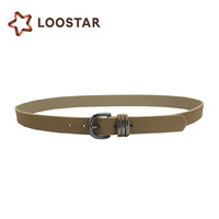 Women Fashion Design Leather Belt, PU Belts for Ladies with Unique Loop in Bulk