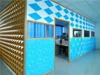3d effect natural plant fibre board wall panel