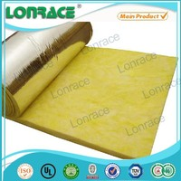Centrifugal Blowing Process 70Mm Insulation Fixing For Glass Wool
