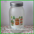 Frasco de vidro de embalagem jam frasco de vidro hot venda por atacado frasco de vidro desobstruído