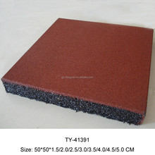Factory Price Rubber Flooring tile/ Rubber Gym Flooring For Exterior Playground