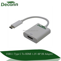 USB 3.1 Type- C to HDMI 1.2 4KX2K Adapter Cable (DP Alt mode)